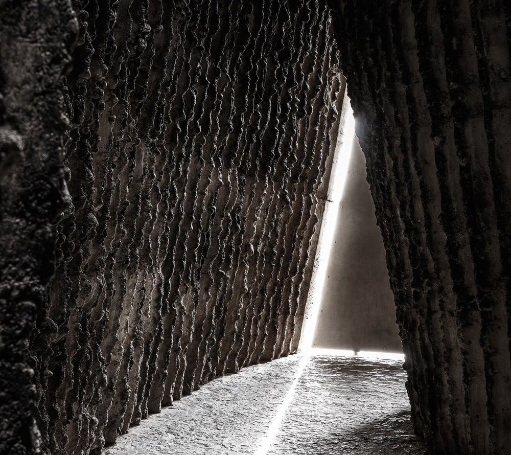 Bruder Klaus Chapel by Peter Zumthor