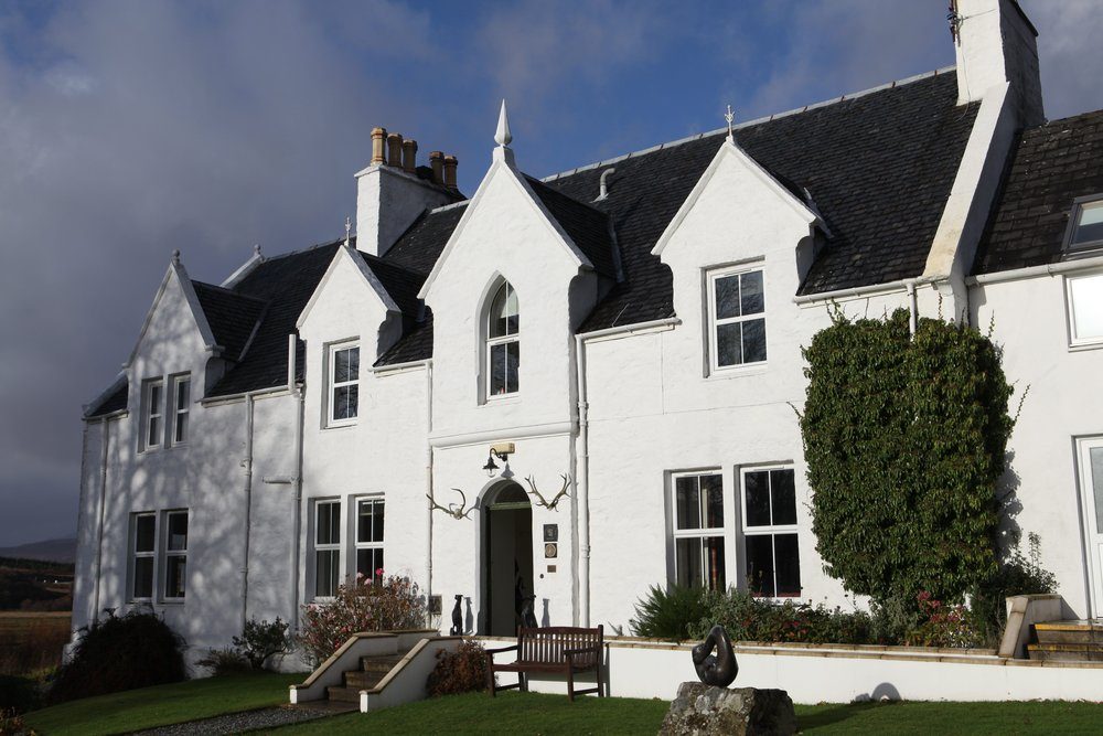 Our stay along the way in Skye- Kinloch Lodge