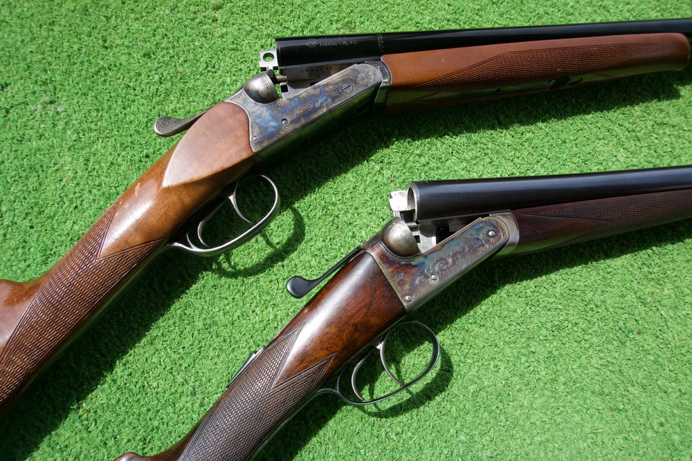 The other gents shoot classic side x side's in 20 and 16 gauge