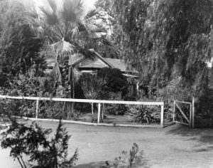 Plummer's house in West Hollywood.