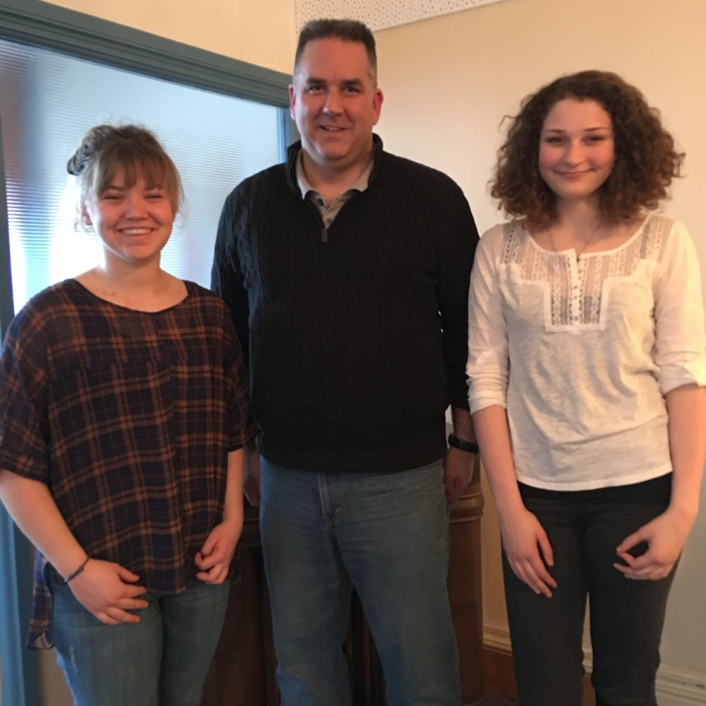 Jill, David Arndt and Rebecca converse on dialogue