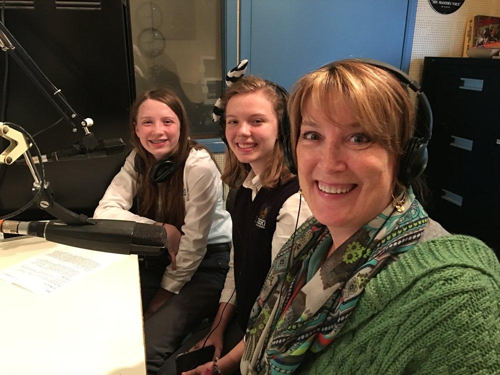 AnnaClare, Aurora and Tracy Maurer talk publishing