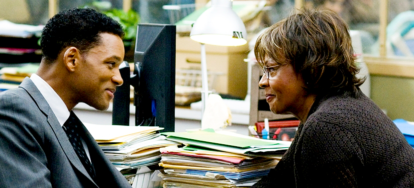 Elder as Holly with Will Smith in Seven Pounds