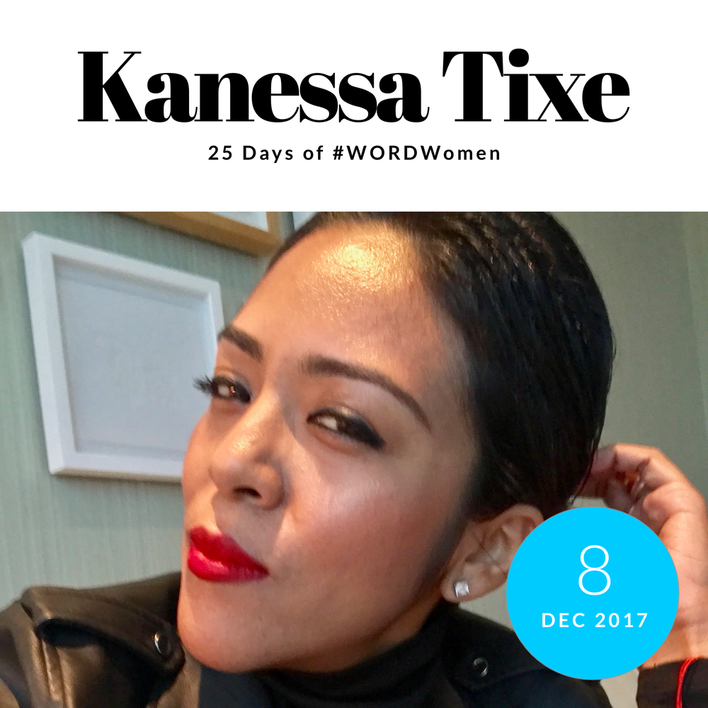 Kanessa Tixe, CEO & Founder of Dynamic Theories     1. What are you grateful for?   I'm grateful for the passion, endless drive and faith that I have inside. With all of those three components, I prove to myself daily that I can... I'm also grateful for a group of select people who support me always and believe in me. Last, I'm grateful for having the connection to platforms that help me spread love, unity and relatable stories that influence, and inspire others. Connecting with people and putting out good energy fulfills me, and it makes me push my passion, endless drive and faith daily.    2. Favorite 2017 moments & collaborations.   - Helping Dascha Polanco through her platform along with the Dominican Consult of NY save two people from being deported bc we helped them know their rights through a jail visit we did.  - Announce that Covergirl has made my client Maye Musk the new face of their brand, and that what I envisioned two years ago when I met Maye was turned into a reality. I told her that with her story we will help define Ageism.   - Having the opportunity to explore the music management role for a creator, Spiff TV. Through a team effort and plan, we've introduced him as the bridge between two biggest music markets. The journey has been real and rewarding to see him grow into his influential role.  - Overall, I've been grateful for hiring three amazing and diverse women this year. And, bring a diverse group of interns to my company. Through this experience, I have shown them that being themselves goes a long way in business than trying to be what the world would want them to portray. It makes me happy to have the opportunities to bring diversity to the world of PR and brand management, and partner with other new businesses in different cities that have been started by brilliant, creative and diverse women. My goal is to continue to bring opportunities to women, who like me, just want to be part of something influential, honest and creative. There's work and opportunities for everyone to share, and make history together.   3. Nominate one woman to know   One woman to know is definitely Maye Musk. Maye has inspired me through her intelligence, style, class, family values, passion, hard work and just to be a nice person, and treat people with respect. She has shown me that life has so many cycles. After raising three amazing children; having a successful dietitian practice and now breaking the barrier of having a full blown supermodel career at 69, she is just getting started.