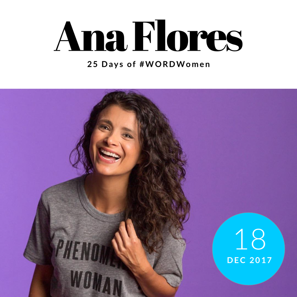 "Ana Flores , Founder of  We All Grow Latina Network     1. What are you grateful for?   I'm grateful for the real friendships and women in my life that contain me when I need it the most.    2. Favorite 2017 moments & collaborations.   This year has truly been ying/yang with so many beautiful moments and so many I'm happy to leave behind, but in gratitude for the lessons learned.  My favorite moment of the year is definitely #WeAllGrow Summit because I selfishly get to spend 3+ days with women I admire, adore and bask in their energy.  A very memorable moment this year was the honor of being recognized as one of People en Español's ""Las 25 Más Poderosas"" of 2017. It was completely unexpected and I allowed myself to enjoy every second of it.   3. Nominate one woman to know   I have to nominate two: Roxanna Sarmiento and Melissa Bailey. They're my two partners in crime at #WeAllGrow Latina Network and this year, more than ever, I owe them immense gratitude and admiration for their conviction, passion and shared vision to elevate the voices of Latinas through the power of community."