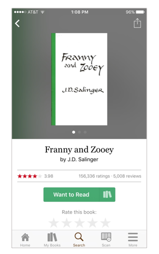 Users did not know that clicking the book icon on the green button would take them to another screen that gave them the option to add the book to their Read shelf