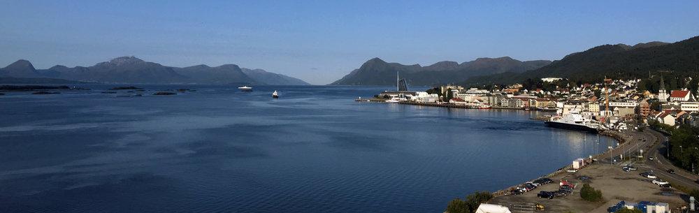 Utsikt fra Molde Mølle