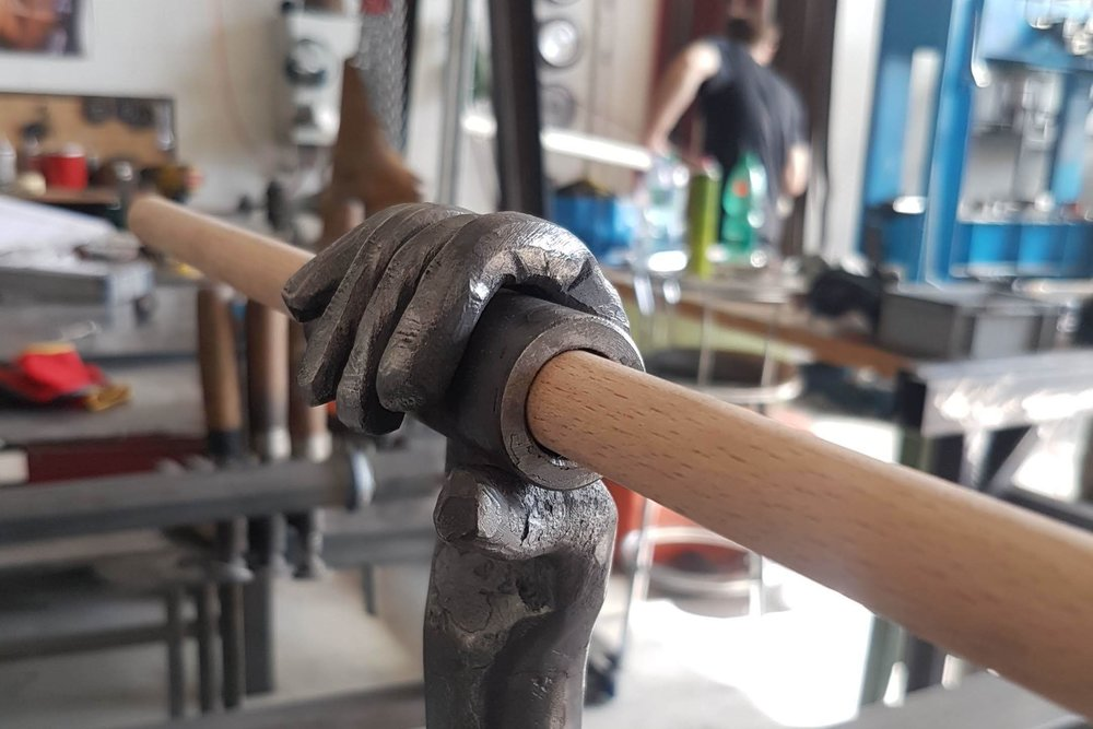 forged hand