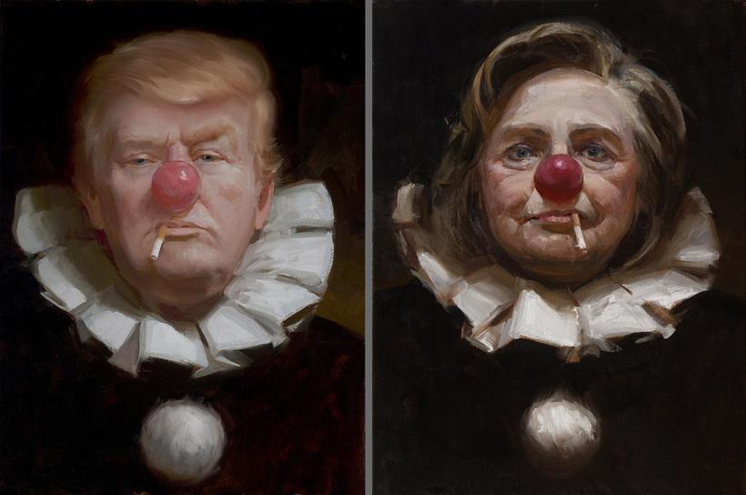 SOURCE: REDDIT Two Clowns In The Same Circus