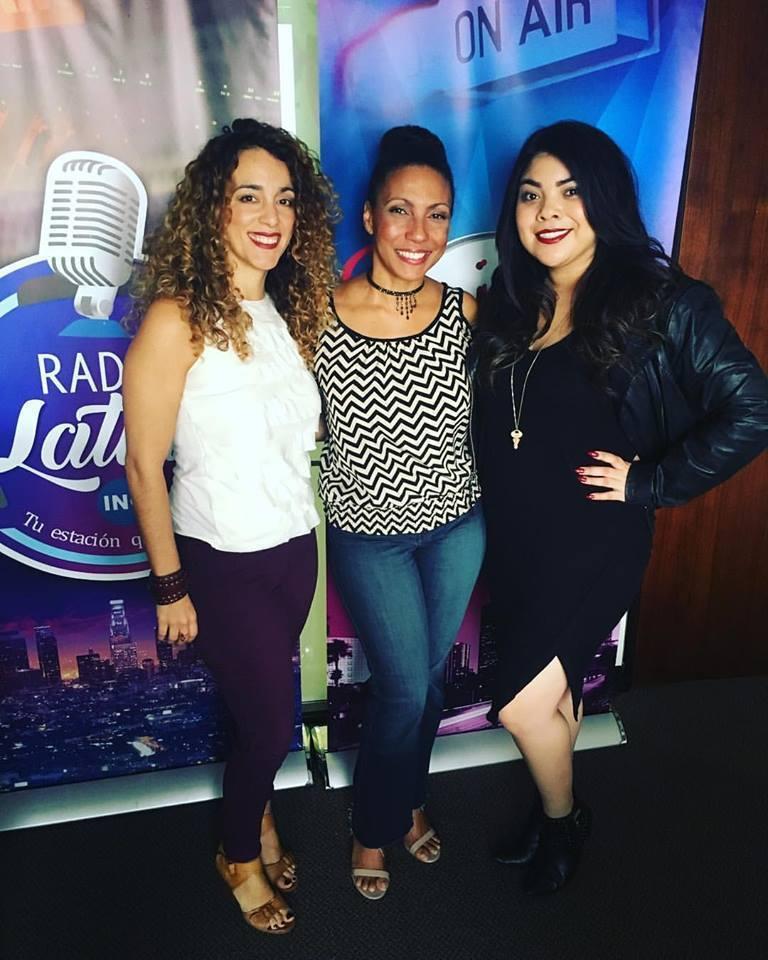 Dariana Cruz, Cecilia Mota y Monica Rivera en Cabina