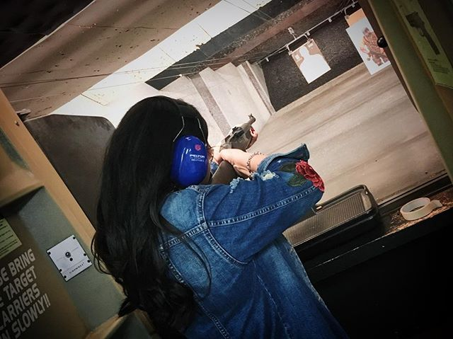 When the listing agent doesn't accept your offer. 😭😂 #RealtorLife  LoL, just kidding. On the real though, going to the gun range is one of my favorite hobbies and stress relievers! This was my first time shooting a 9mm shotgun and I loved it! Easy to handle and aim. Also went in with the AR 15 and 9mm handgun. 😍