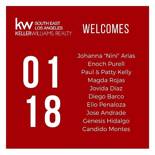 January was a very busy month over here at Keller Williams! 😅 In addition to working on our new years resolutions and celebrating the Triple Crown 👑👑👑 with our incredible agents, we are also so incredibly excited to welcome 11 new business builders to our growing family this past month!  These agents join us from a variety of experiences and backgrounds, and we are excited to be partners in business with them! 🙌