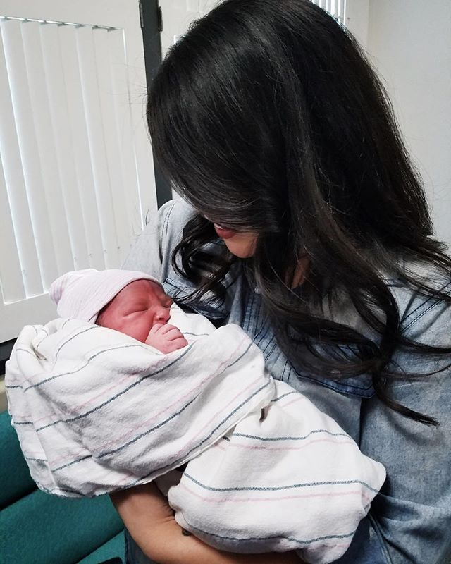 This is what love looks like. ✨ Joseph Rocco Rivera was born at 8:20am. 8lbs 6 oz, 19 inches long and with his 10 little fingers wrapped snuggly around my heart. ♥️ #ProudTia