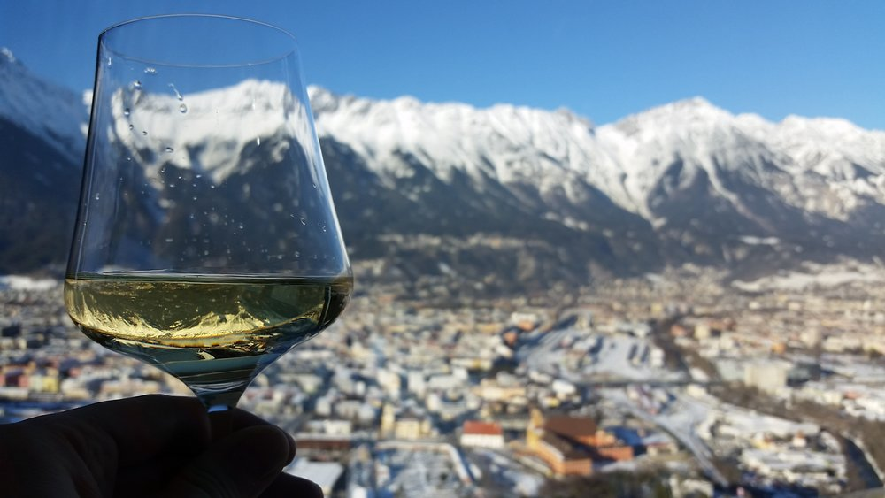 Raising a glass to Innsbruck