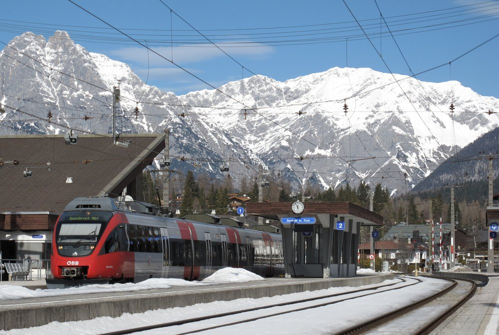 Seefeld in Tirol Bahnhof