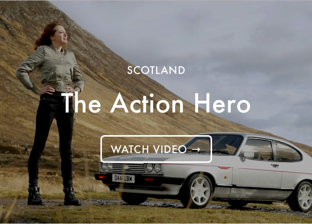 British Famous - The Action Hero
