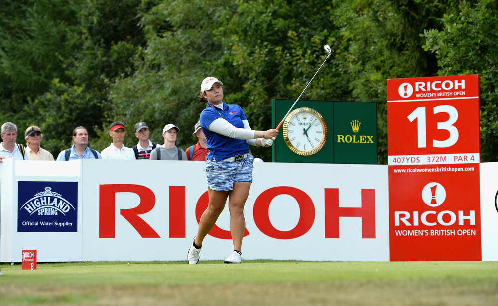 The Ricoh Women's British Open. Photo: Getty Images
