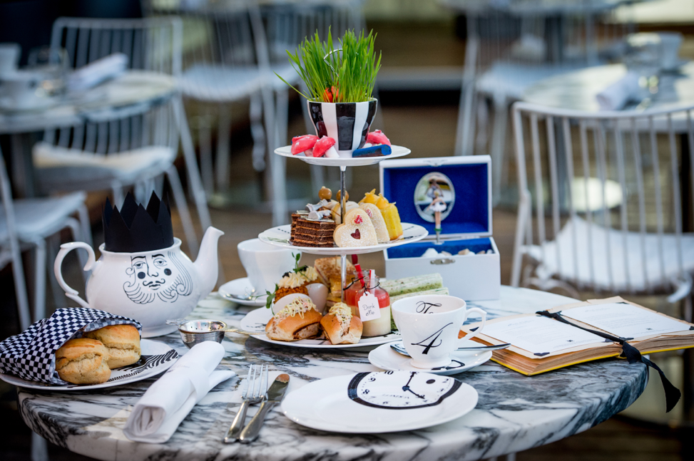 Mad Hatters Afternoon Tea.