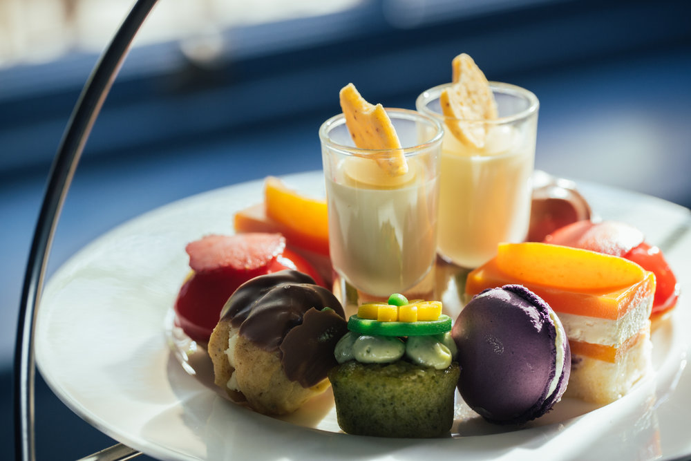 Delectable teatime treats at The Royal Crescent Hotel