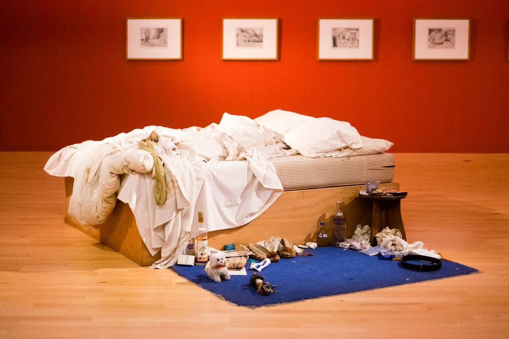Tracey Emin and William Blake in Focus on display at Tate Liverpool until 3 September 2017 © Pete Carr.