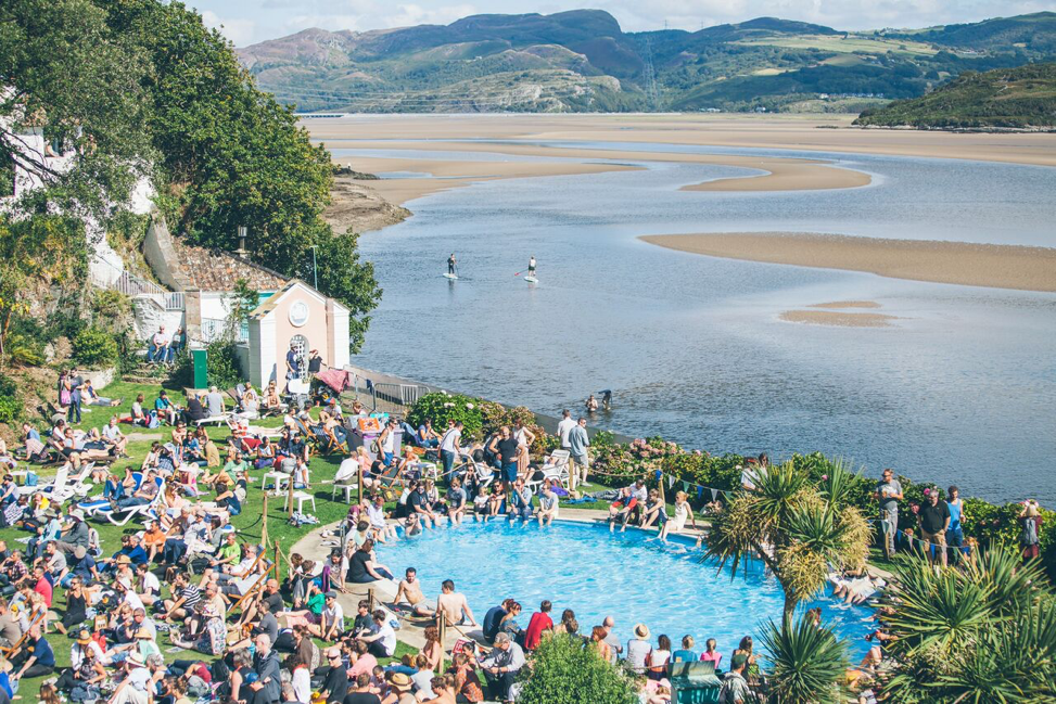 The dreamy Festival No. 6 in Portmeirion, Wales