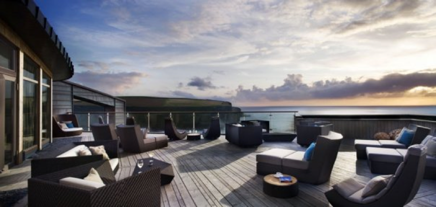 Enjoy gorgeous views at The Scarlet Hotel