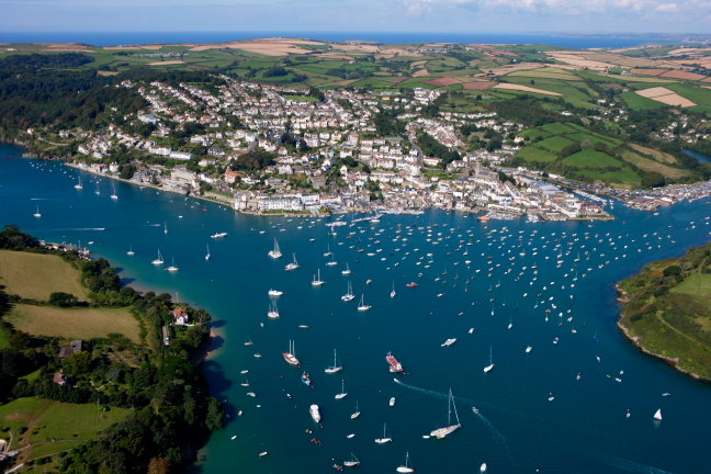 Visit beautiful Salcombe, a seaside town in South Devon