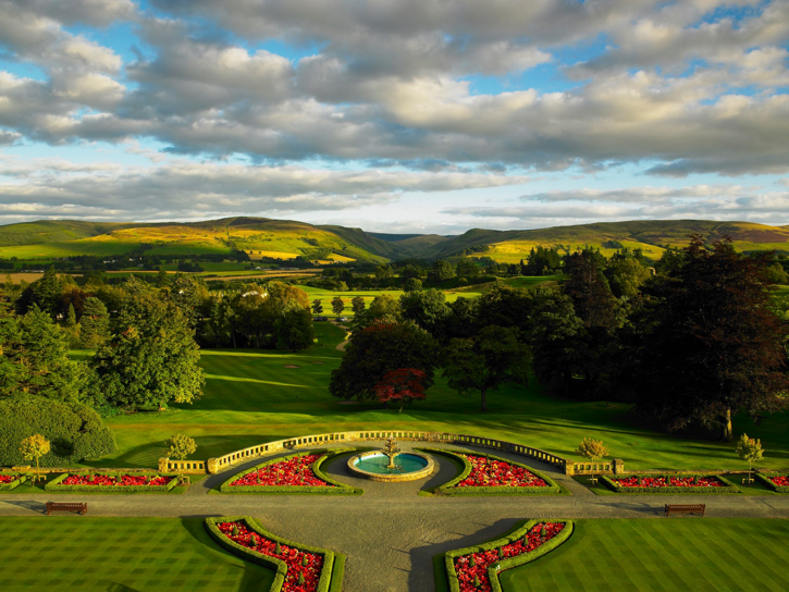Experience the majestic Scottish scenery and luxurious relaxation at Gleneagles