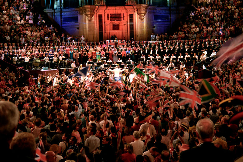 Experience the energy of the Proms in the Royal Albert Hall
