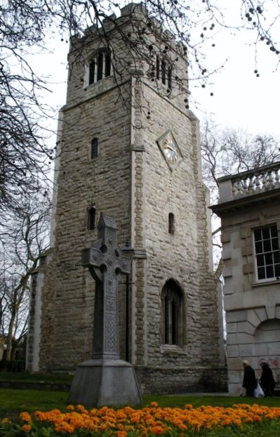 St. Augustine's Tower is a proud symbol of Hackney Borough. Image: Hackney Historic Buildings Trust.
