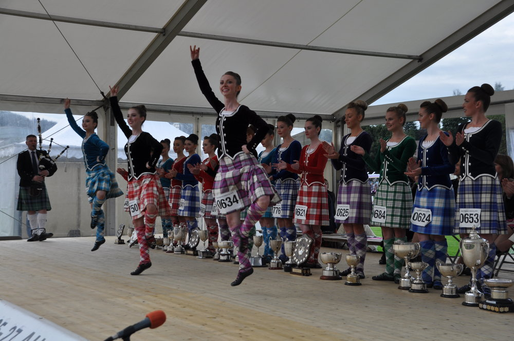 720 Highland dancers will compete this year in the World Highland Dancing Championship. Photo from: Cowal Highland Gathering