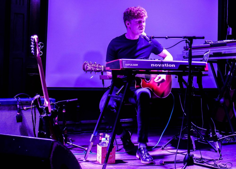 Falling Ghostat The Castle Hotel in September. Photo by: Nathan Whittaker (@manc_wanderer)