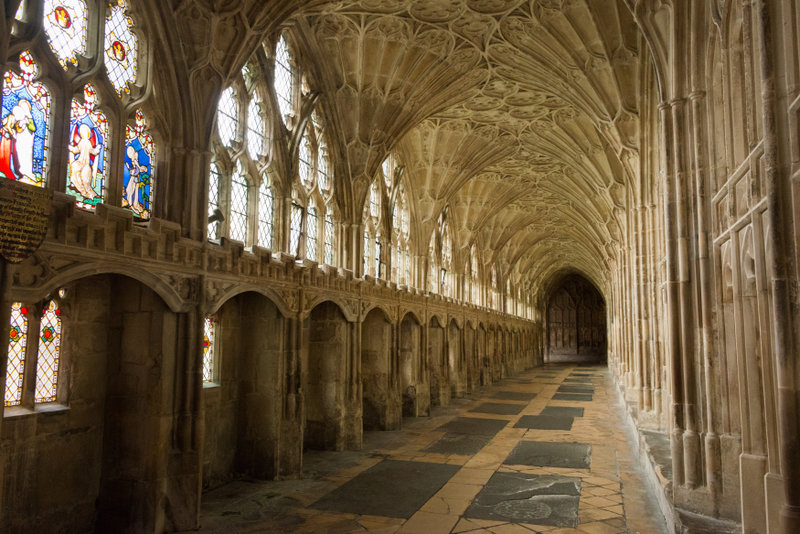 Go back in time as you wander through the ornate cloisters