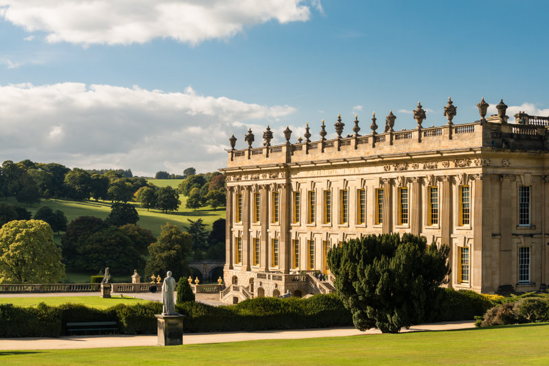 Explore the stately Chatsworth House and wander through the beautiful grounds