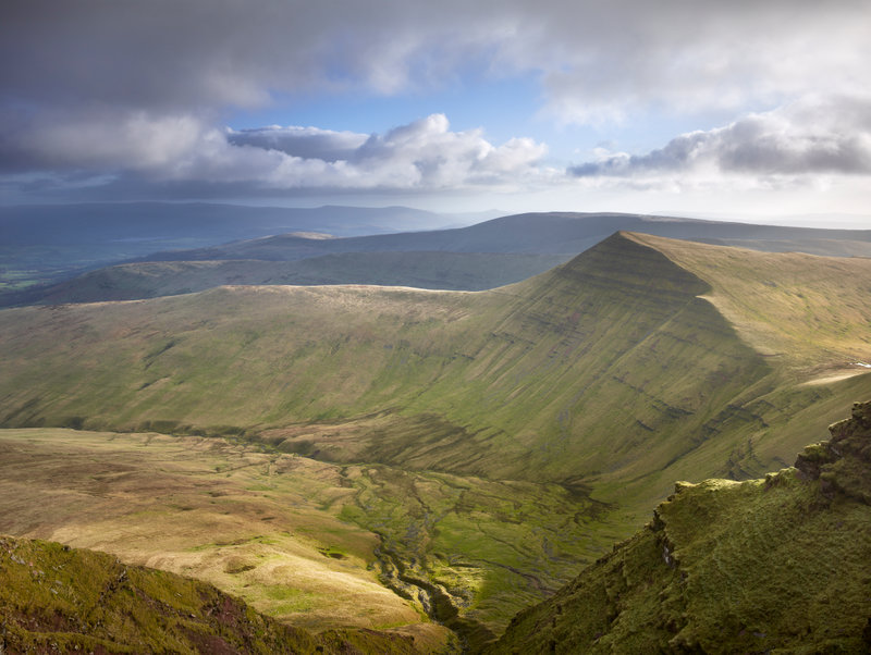 Hike through the stunning Brecon Beacons National Park