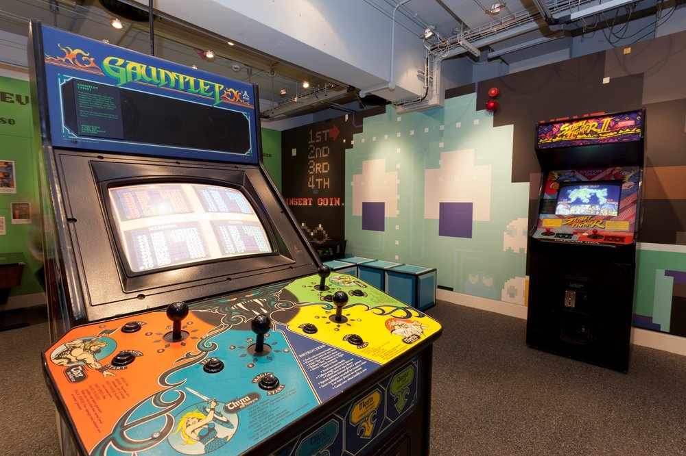 Indulge nostalgia in the Games Lounge. Image from: The Science and Media Museum