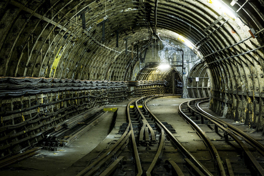 Go underground and ride a different kind of train. Photo by: Miles Willis