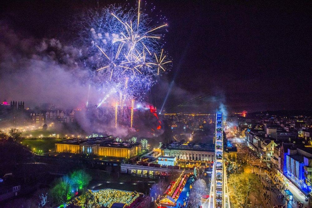 Colorful celebrations in Edinburgh. Photo by: Chris Watt.