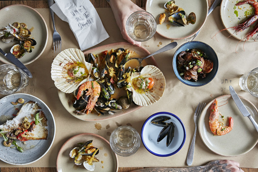 Delicious seafood at  Prawn on the Lawn.  Photo courtesy of  Prawn on the Lawn