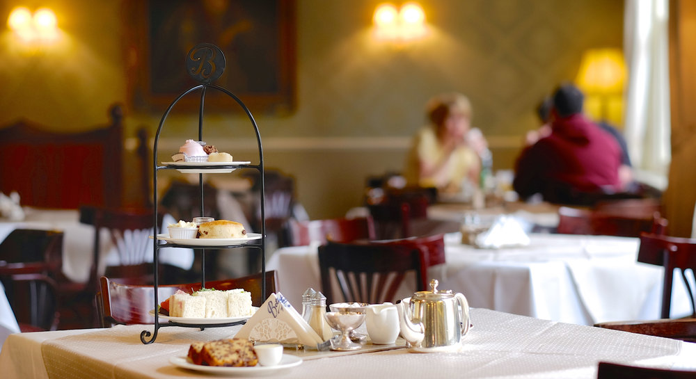 Classic Afternoon Tea at  Botham's of Whitby.  Photo courtesy of  Botham's of Whitby.