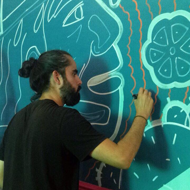 GABO ESTRADA, Muralist @GABODRAWS > BIO