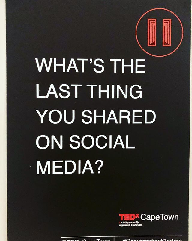 TEDx Cape Town #tedxcapetown #curious #b2insight #lookingforwardtoit