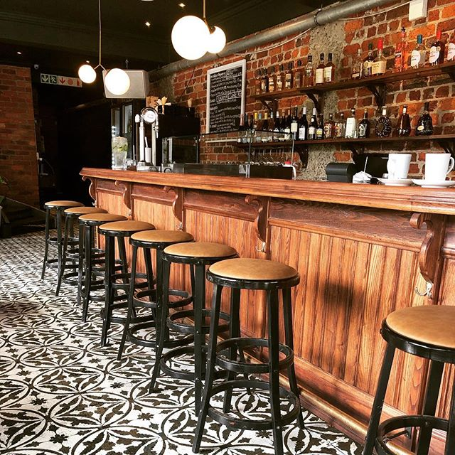 Kick off meeting with our fab new design client over coffee in Bree Street. Spoilt for choice in this city ... (ooh and love this floor too!) . . . .  #breestreet #loveourclients #lovecapetown