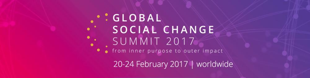 Global social change summit 2017