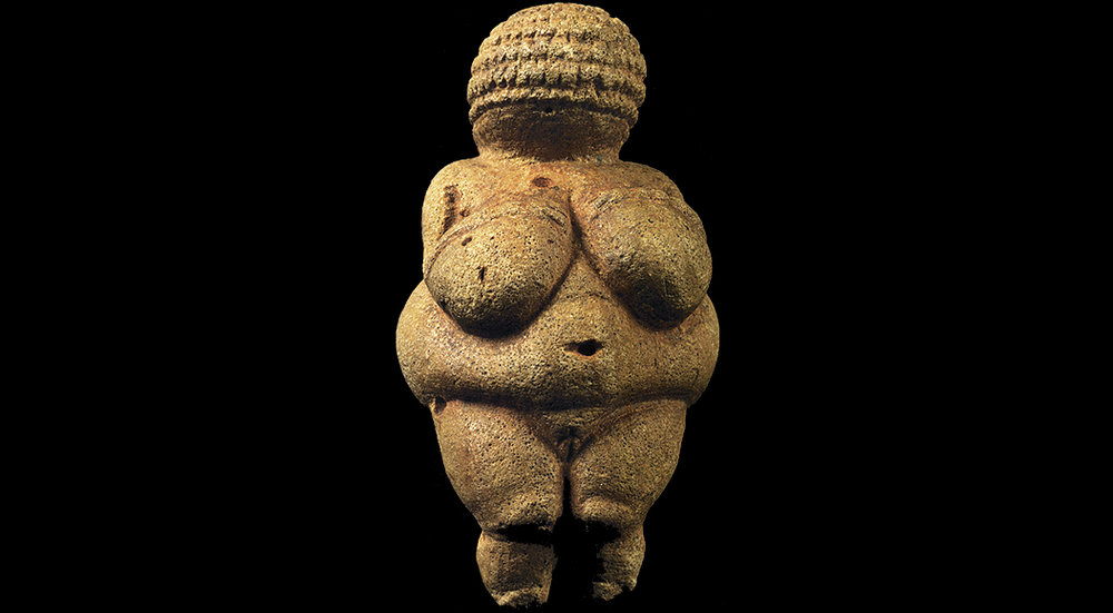The Venus of Willendorf. Photo from the  Bradshaw Foundation.