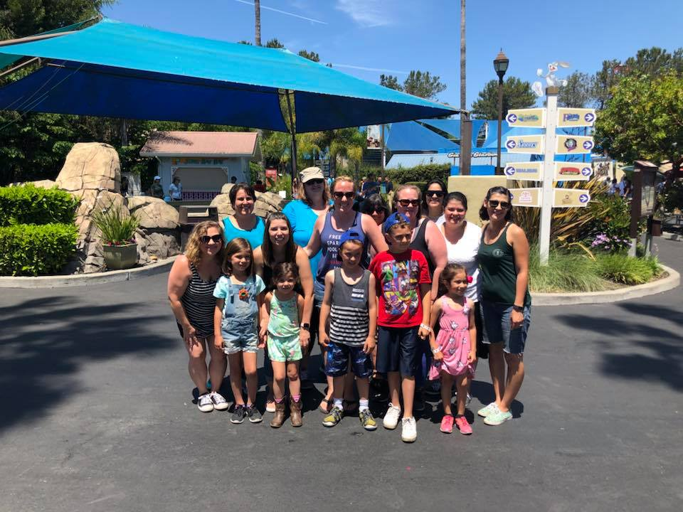 - Ten California publishers and their families had a fun day hanging out with Six Flags Discovery Kingdom!