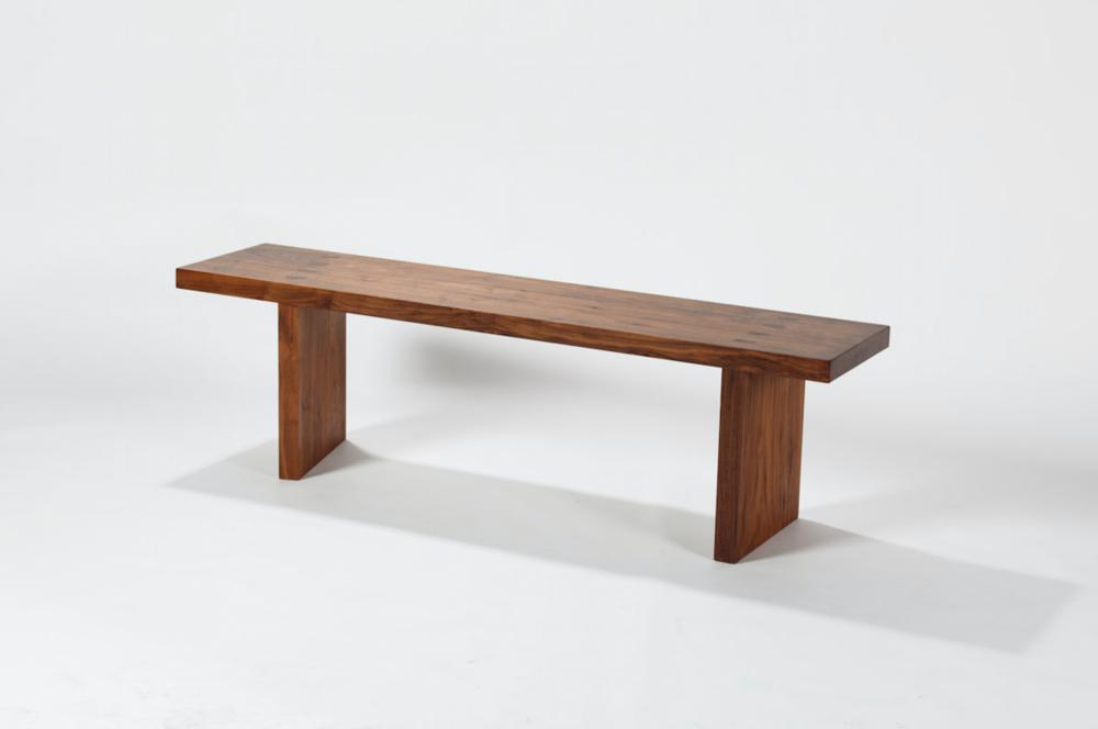 walnutwood bench
