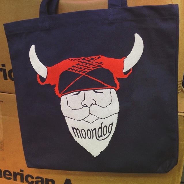 Moondog Tote Bags