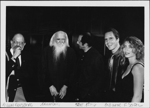 Moondog with some old friends! BAM 1989 © BAM