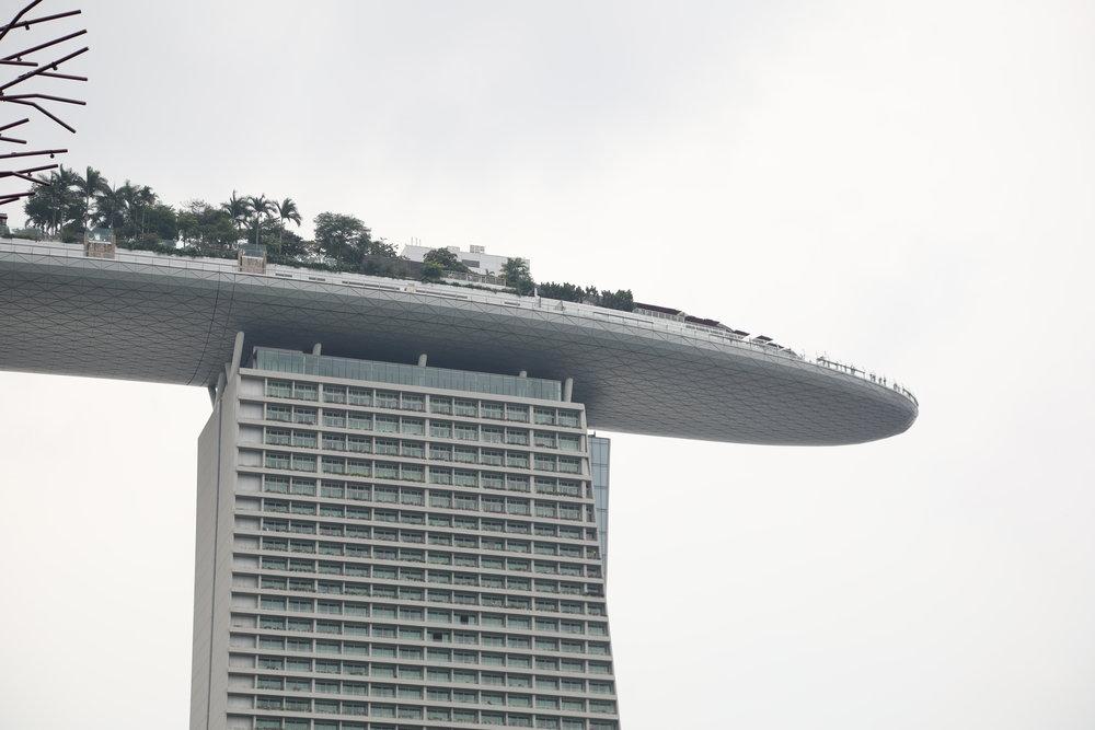Marina Bay Sands Hotel, Singapore.